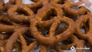 Medical Cannabis Savory Pretzels from Auntie Dolores
