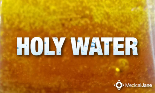 HolyWater, Live Resin, and Terpene-Rich Concentrates