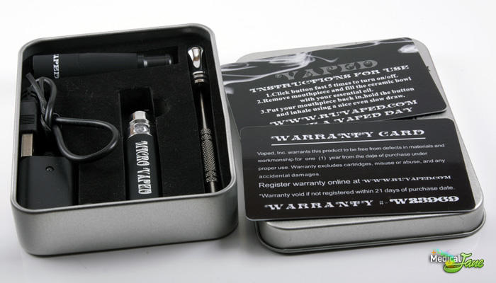 Micro Vaped Pen Vaporizer from Vaped (Review)