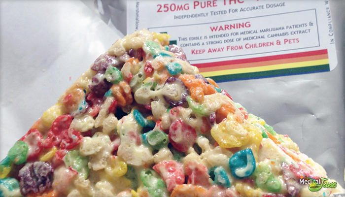 Fruity Rice Krispie Treat 100mg from Truly Edibles (Review)